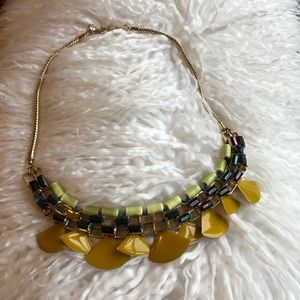 Anthropologie Colorful Necklace